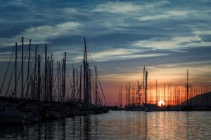 Sunset Port Ginesta network yacht brokers