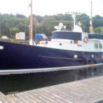 De Vries Steel Trawler Yacht