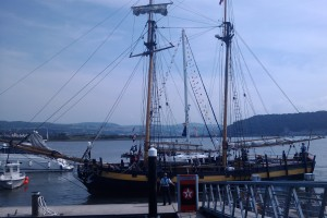 Clipper at Deganwy Marina on the Conwy River