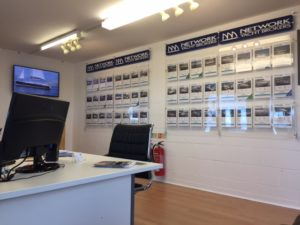 Network Yacht Brokers Conwy inside office