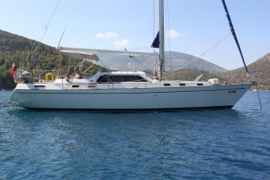 Farchini 45L for sale with Network Yacht Brokers Corfu