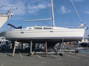 Jeanneau Sun Odyssey 35 by Network Yacht Brokers Swansea