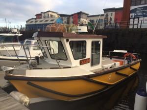 Westral 24ft Fishing Boat - NYB Swansea0