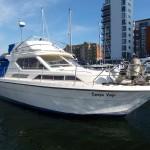 Princess 30DS Flybridge Network Yacht Brokers Swansea