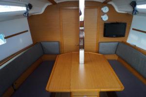 Jeanneau Sun Odyssey 349 lift keel
