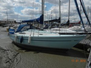 """My Escape"" Sadler 29 in Swale Marina"