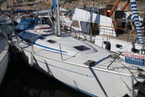 Bavaria Yacht on berth