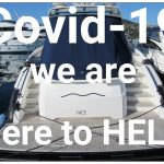 Covid-19 yacht checks