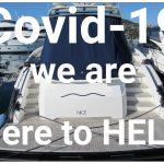 Covid-19 yacht checks