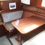 Linssen 32SL Galley table